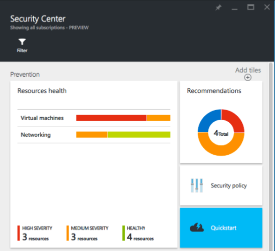 Azure Security Center 3